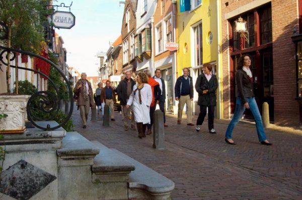 Stadswandelaars in Deventer