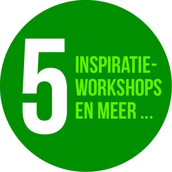 Vijf inspiratie workshops
