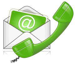 Een telefoon en een mailtje in één plaatje